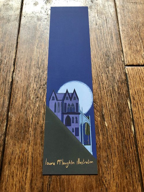 Gothic Mansion Bookmark