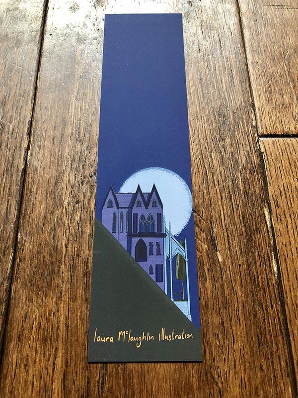 Gothic Mansion Bookmark